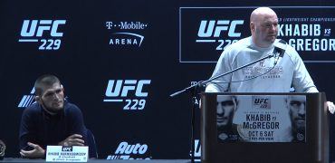 UFC 229: Champ Khabib Refuses To Wait For Conor; Leaves Press Conference Early