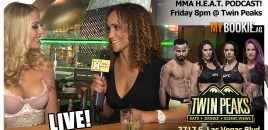 🔴 UFC 229 MMA H.E.A.T. Podcast LIVE From Twin Peaks On The Las Vegas Strip!