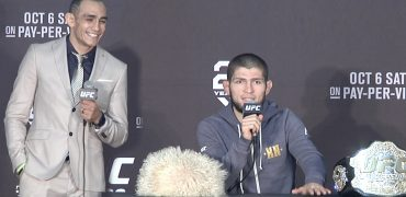 UFC 229 Post Fight Press Conference: Khabib Nurmagomedov vs Conor McGregor (LIVE!)