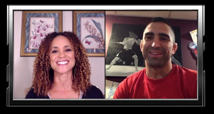 Ricardo Lamas On Fighting Elkins In Argentina, Yair vs Zombie + How To Trane UFC