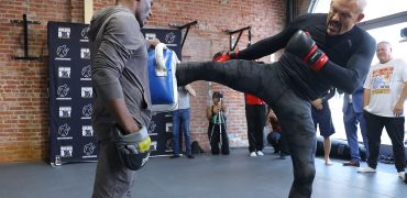 See Former UFC Champ Chuck Liddell Show Some Boxing + BJJ Before Tito Trilogy Fight