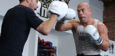See Former UFC Champ Tito Ortiz's Stand-Up Skills Before Trilogy Fight With Chuck Liddell