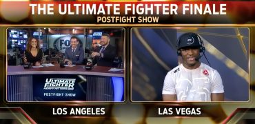 Kamaru Usman Talks TUF Finale Win Over RDA With Karyn Bryant, Kenny Florian & Michael Bisping