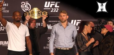 UFC 232: Jones vs Gustafsson 2 / Cyborg vs Nunes Pre-Fight Press Conference (LIVE! / HD)