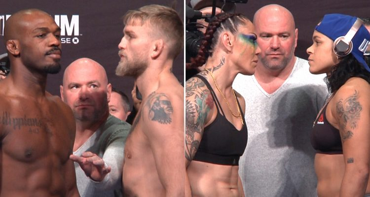 UFC 232: Jones vs Gustafsson 2 Ceremonial Weigh-ins + Staredowns (LIVE! / HD)