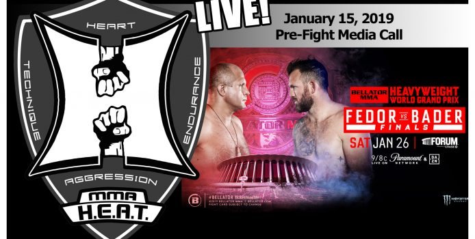 Bellator 214: Fedor vs. Bader Pre-Fight Media Call (LIVE! / 10:00am PT)