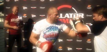 Fedor Emelianenko Shows Off Legendary Power At Bellator 214 Open Workout Before Bader Fight
