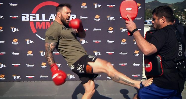 Ryan Bader Bellator 214 Open Workout: Shows Boxing + Wrestling Before Fedor Fight