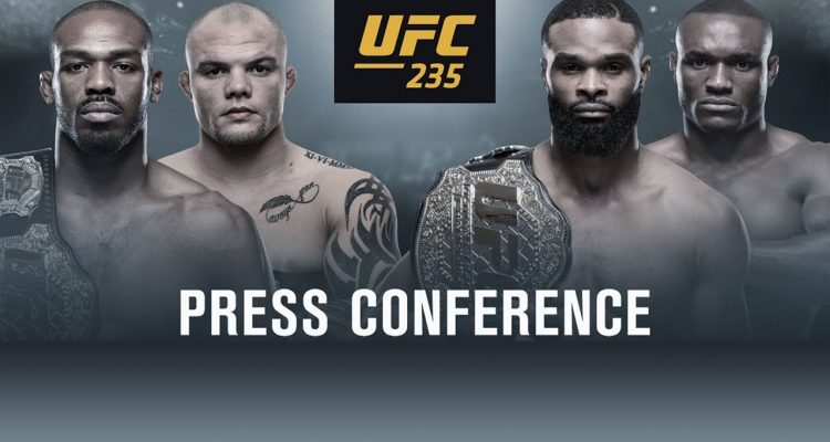 UFC 235: Jones vs. Smith Pre-Fight Press Conference