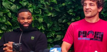 UFC 235's Tyron Woodley + Ben Askren: A Comedy Duo Talking Usman, Lawler, Covington + SO MUCH MORE!