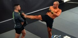 Eddie Alvarez Shows Off His Skills At One Championship's First Open Workouts In LA