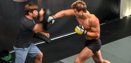 """Super"" Sage Northcutt Hits Pads + Rolls With Urijah Faber At One Championship's LA Open Workouts"