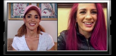 UFC 235: Gina Mazany On Chiasson Match-Up, Pink Hair Power + Landing A Double Lutz On Ice