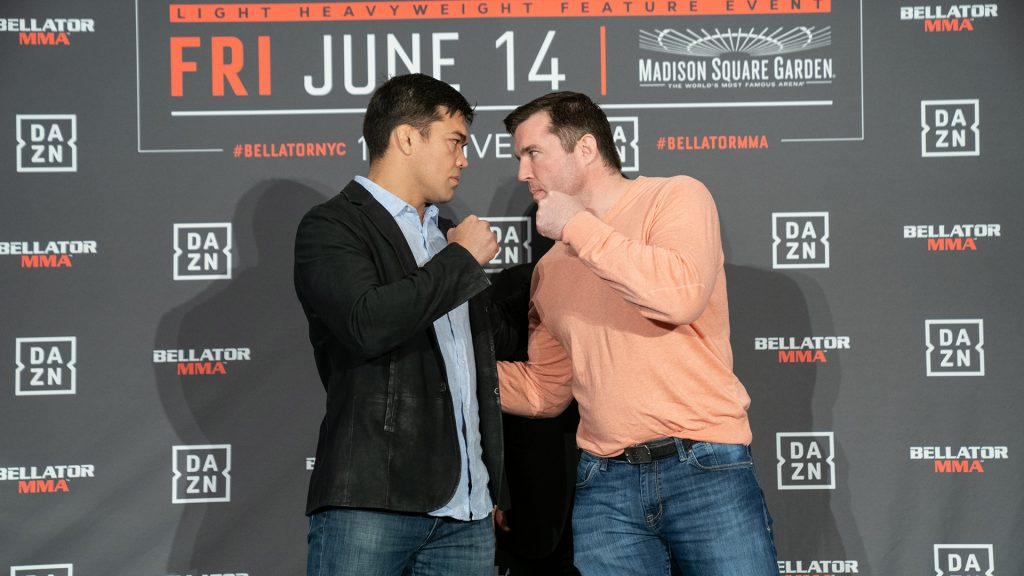 "Lyoto ""The Dragon"" Machida vs Chael ""The American Gangster"" Sonnen"