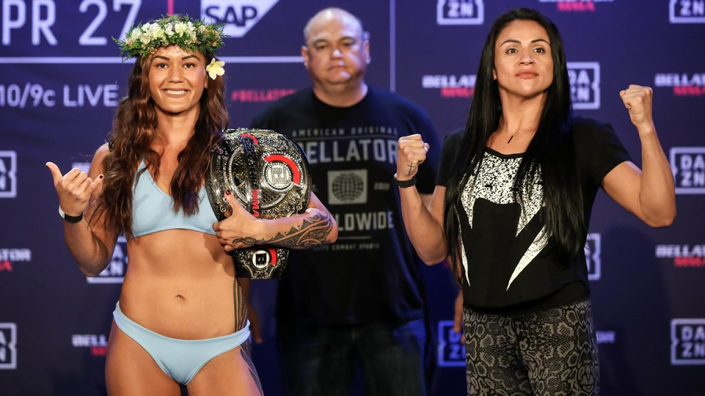 Women's Flyweight World Title Bout: Ilima-Lei Macfarlane (124.8) vs. Veta Arteaga (123.8)