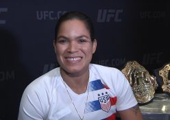 """Champ Champ Amanda Nunes """"Was Drunk For A Week"""" After Beating Cyborg: Talks UFC 239 Holm Fight"""