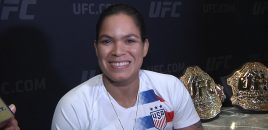 "Champ Champ Amanda Nunes ""Was Drunk For A Week"" After Beating Cyborg: Talks UFC 239 Holm Fight"