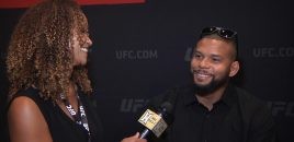 "UFC 239's Thiago ""Marreta"" Santos Compares Fighting Jon Jones + Jumping Out Of Airplanes"