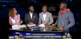 ESPN: Francis Ngannou Speaks To Karyn Bryant, Rashad Evans + Kamaru Usman About Fighting JDS