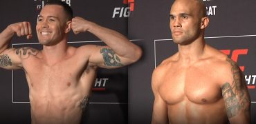 UFC Fight Night: Covington vs Lawler Official Morning Weigh-ins (LIVE! / HD)