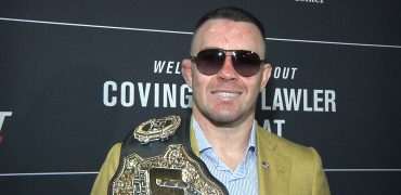Colby Covington Talks Robbie Lawler, Usman, Trump + US Military After UFC Newark Win