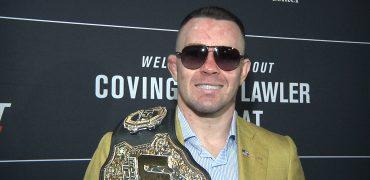 Colby Covington Talks Robbie Lawler, Usman, Trump + US Military After UFC Newark Win