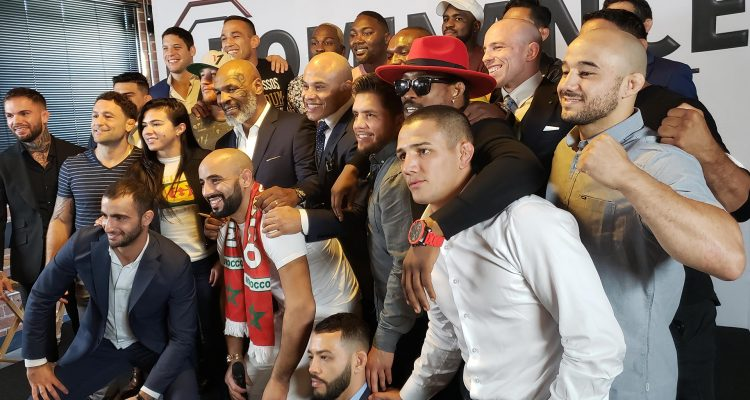 Dominance MMA Exclusive Media Day At Tyson Ranch with 23 UFC, Bellator + Brave CF Fighters + Champs