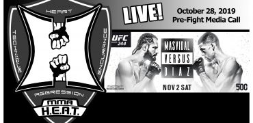 UFC 244: Jorge Masvidal vs. Nate Diaz BMF Pre-Fight Media Call (LIVE! / 1:00pm PT)