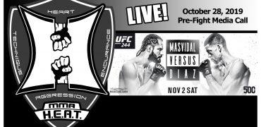 UFC 244: Jorge Masvidal vs. Nate Diaz BMF Pre-Fight Media Call (LIVE! / 1:00pm PT)