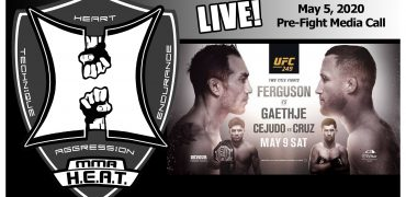 UFC 249: Ferguson vs Gaethje / Cejudo vs Cruz Pre-Fight Media Call (LIVE! / 2:00pm PT)