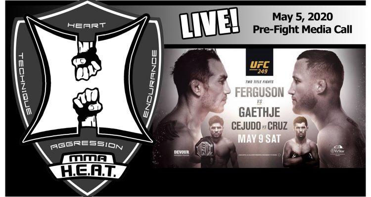 UFC 249: Ferguson vs Gaethje / Cejudo vs Cruz Pre-Fight Media Call (LIVE! / 2:00pm PT)