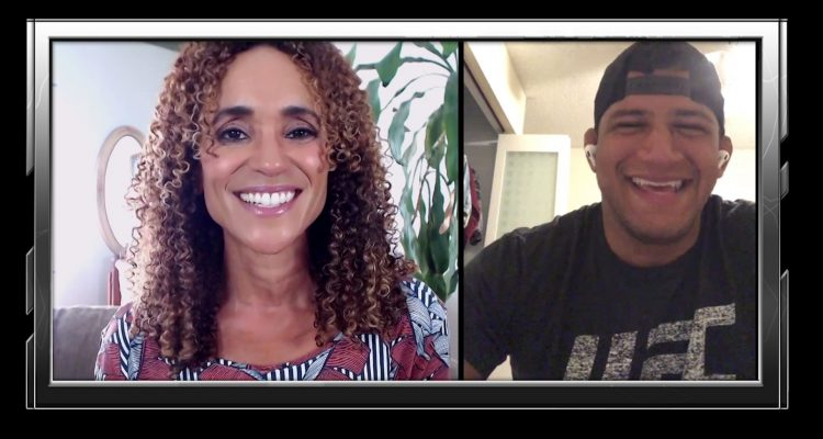 Gilbert Burns Knows Trolling Works! Talks 1st UFC Main Event Against Tyron Woodley