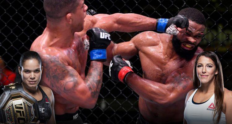 MMA H.E.A.T. Podcast #247: Gilbert Burns Defeats Tyron Woodley At UFC Vegas, UFC 250 Preview