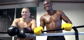 Exclusive, Never Before Seen, Anderson Silva / GSP Photo Shoot