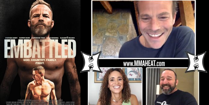 Stephen Dorff Praises UFC Fighters; Details Training To Play An MMA Champ In New Film 'Embattled'
